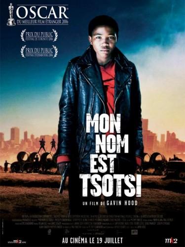 Affiche du film MON NOM EST TSOTSI - TSOTSI