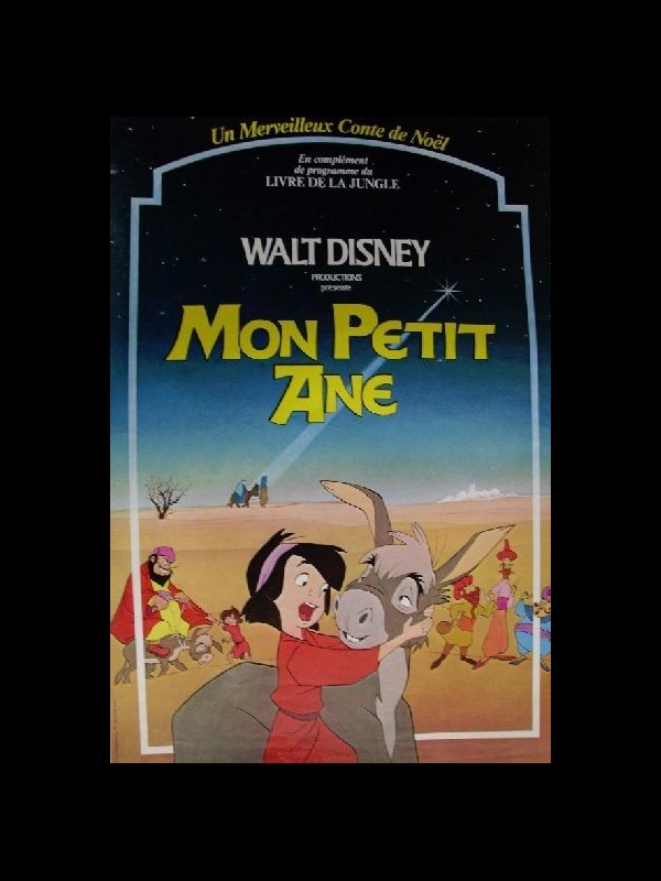 Affiche du film MON PETIT ANE (WALT DISNEY) - SMALL ONE (THE)