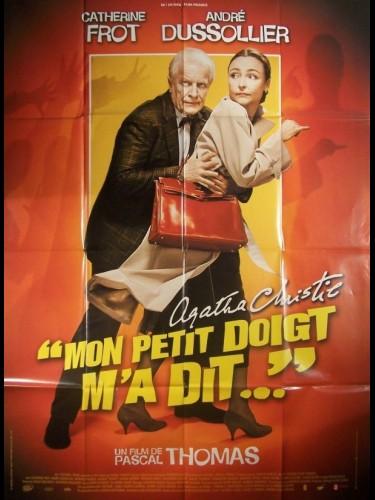 Affiche du film MON PETIT DOIGT M'A DIT