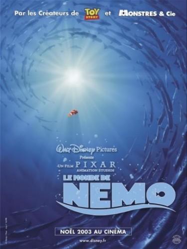 Affiche du film MONDE DE NEMO (LE) - FINDING NEMO