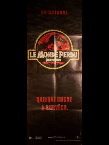 Affiche du film MONDE PERDU (LE) - JURASSIC PARK - THE LOST WORLD