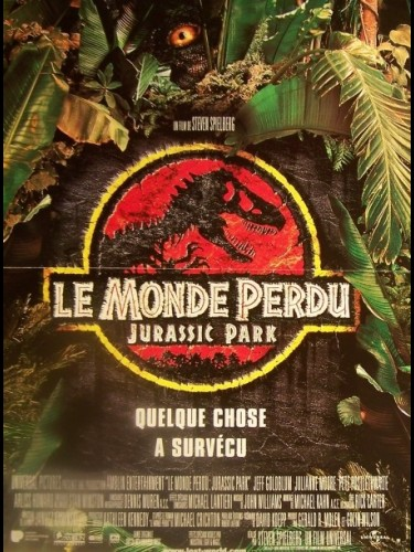 MONDE PERDU (LE) - JURASSIC PARK - THE LOST WORLD