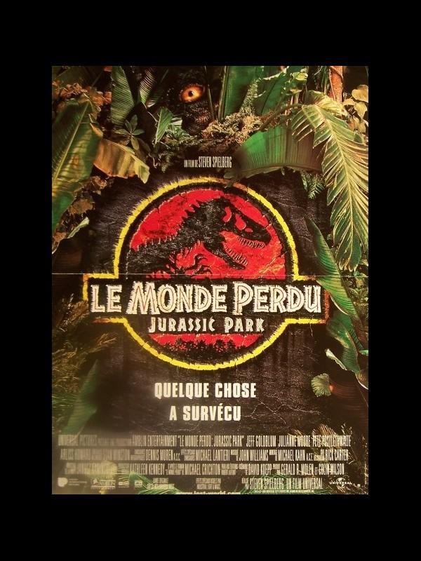 Affiche du film MONDE PERDU (LE) - JURASSIC PARK - THE LOST WORLD