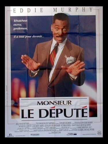 Affiche du film MONSIEUR LE DEPUTE - THE DISTINGUISHED GENTLEMAN