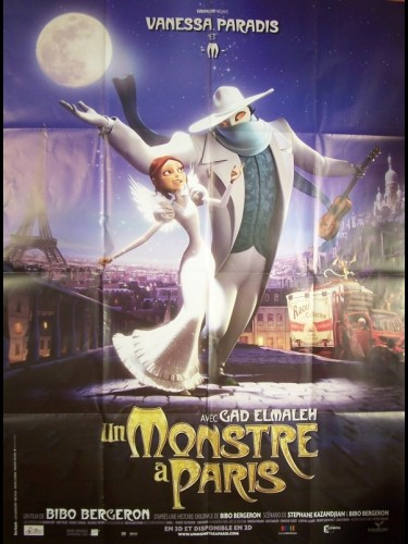 Affiche du film MONSTRE A PARIS (UN)