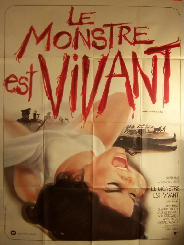 Affiche du film MONSTRE EST VIVANT (LE) - IT'S ALIVE