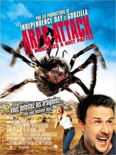 Affiche du film ARAC ATTACK, LES MONSTRES À HUIT PATTES - EIGHT LEGGED FREAKS