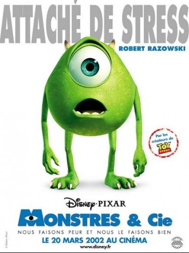 Affiche du film MONSTRES & CIE - MONSTERS,INC