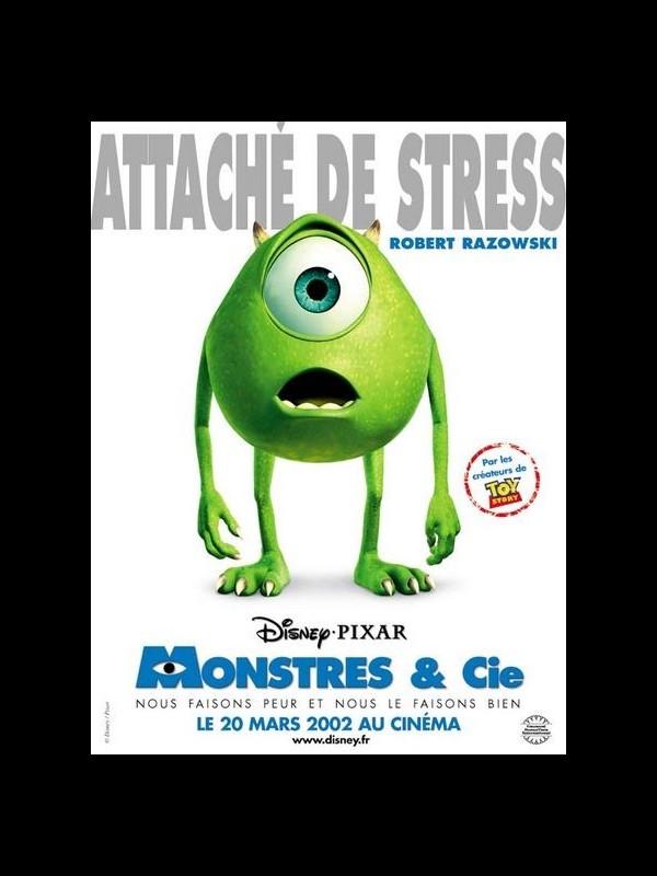 Affiche du film MONSTRES & CIE - MONSTERS,INC