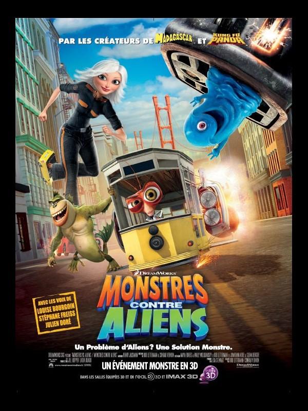 Affiche du film MONSTRES CONTRE ALIENS - MONSTERS VS ALIENS