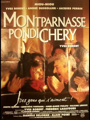 Affiche du film MONTPARNASSE-PONDICHERY
