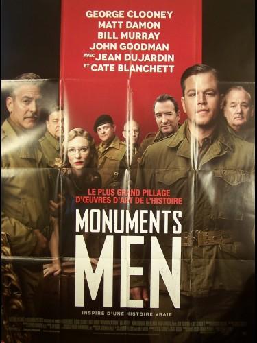 Affiche du film MONUMENT MEN