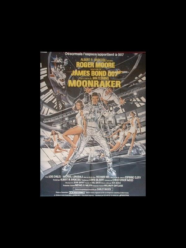 Affiche du film MOONRAKER (JAMES BOND)