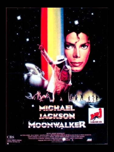 Affiche du film MOONWALKER