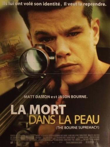 Affiche du film MORT DANS LA PEAU (LA) - THE BOURNE SUPREMACY