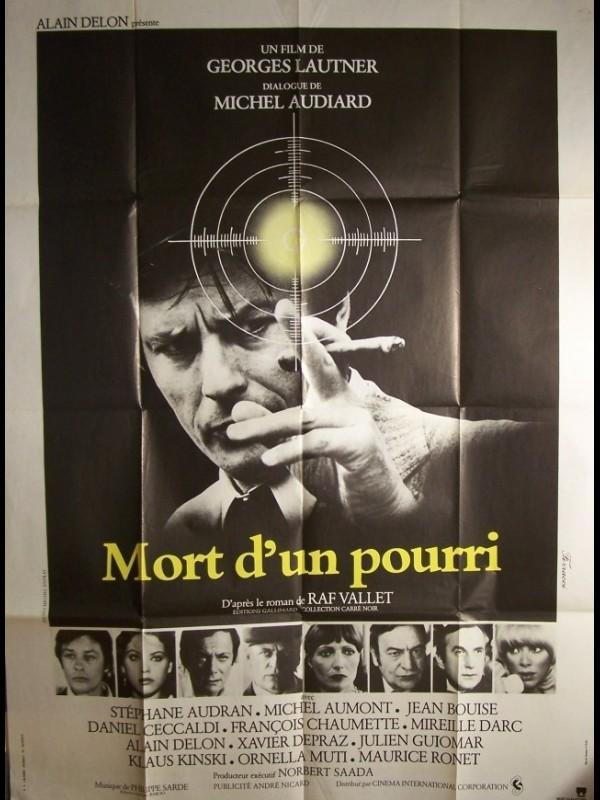 Affiche du film MORT D'UN POURRI