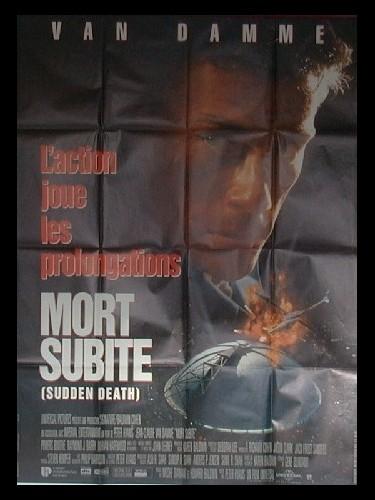 Affiche du film MORT SUBITE - SUDDEN DEATH