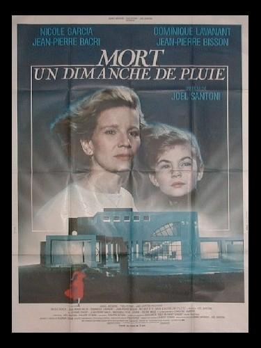Affiche du film MORT UN DIMANCHE DE PLUIE