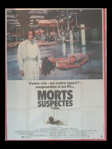 Affiche du film MORTS SUSPECTES - COMA