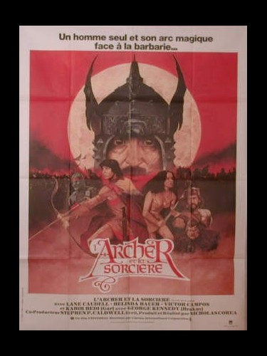 Affiche du film ARCHER ET LA SORCIERE (L') - THE ARCHER AND THE SORCERESS