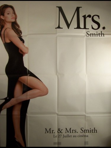 Affiche du film MR ET MRS SMITH-ANGELINA JOLIE-