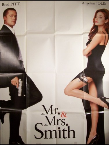Affiche du film MR. ET MRS. SMITH