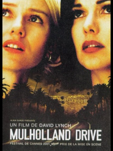 Affiche du film MULHOLLAND DRIVE