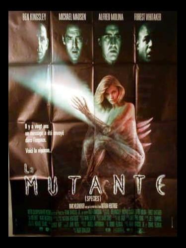Affiche du film MUTANTE (LA)