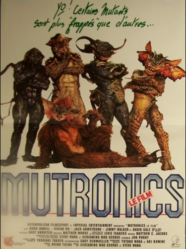 Affiche du film MUTRONICS - THE GUYVER