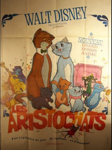Affiche du film ARISTOCHATS (LES) - THE ARISTOCATS