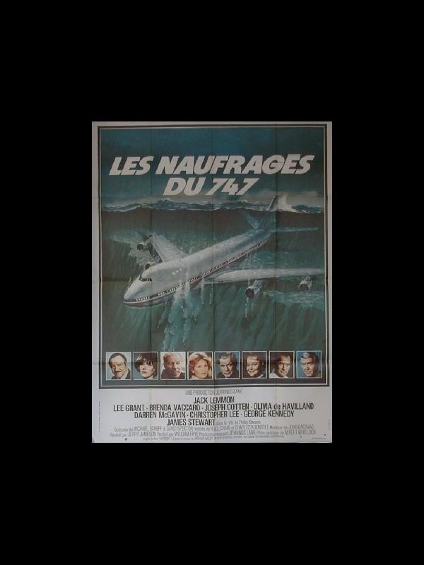 Affiche du film NAUFRAGES DU 747 (LES)