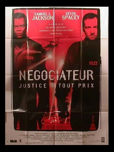 Affiche du film NEGOCIATEUR - THE NEGOTIATOR