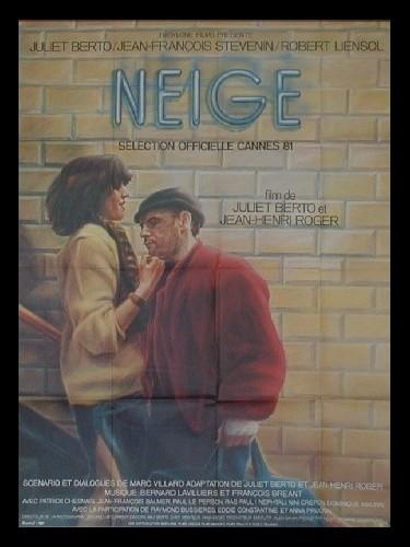 Affiche du film NEIGE