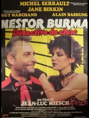 Affiche du film NESTOR BURMA