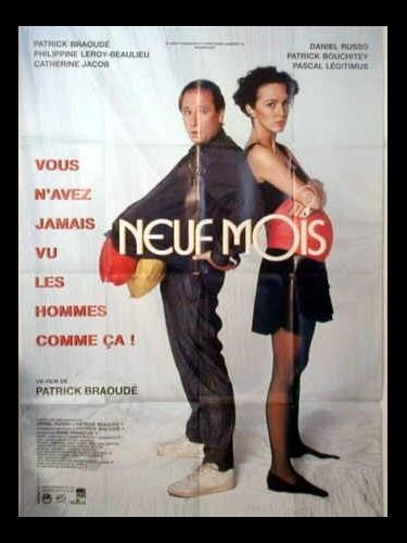 Affiche du film NEUF MOIS