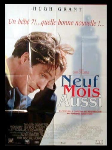 Affiche du film NEUF MOIS AUSSI - NINE MONTHS