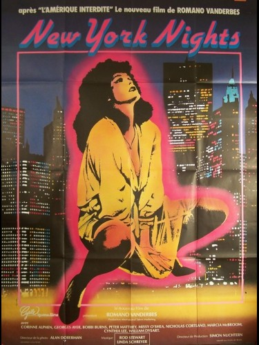 Affiche du film NEW YORK NIGHTS