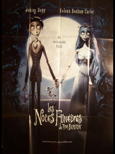 Affiche du film NOCES FUNEBRES (LES) - CORPSE BRIDE