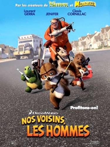 Affiche du film NOS VOISINS LES HOMMES 1