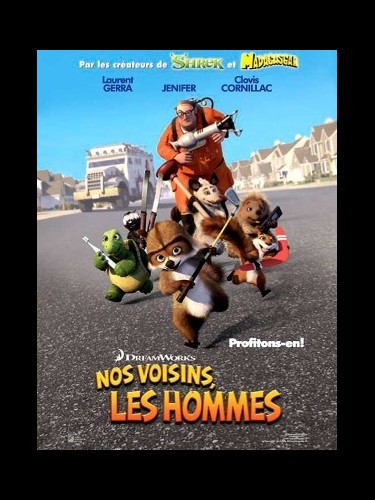 Affiche du film NOS VOISINS LES HOMMES 1 - OVER THE HEDGE