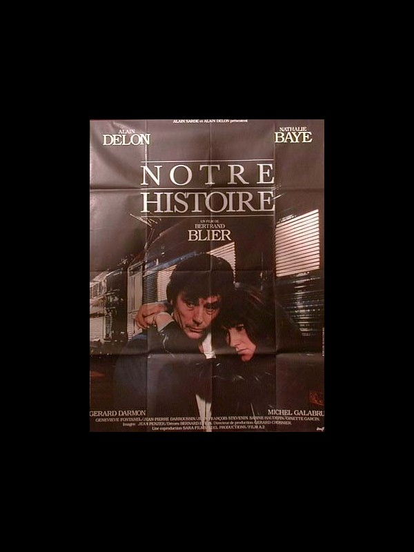 Affiche du film NOTRE HISTOIRE