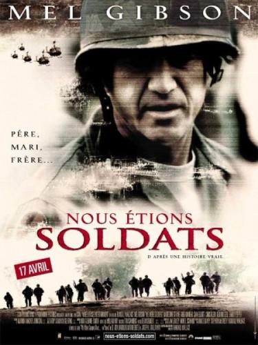 Affiche du film NOUS ETIONS SOLDATS