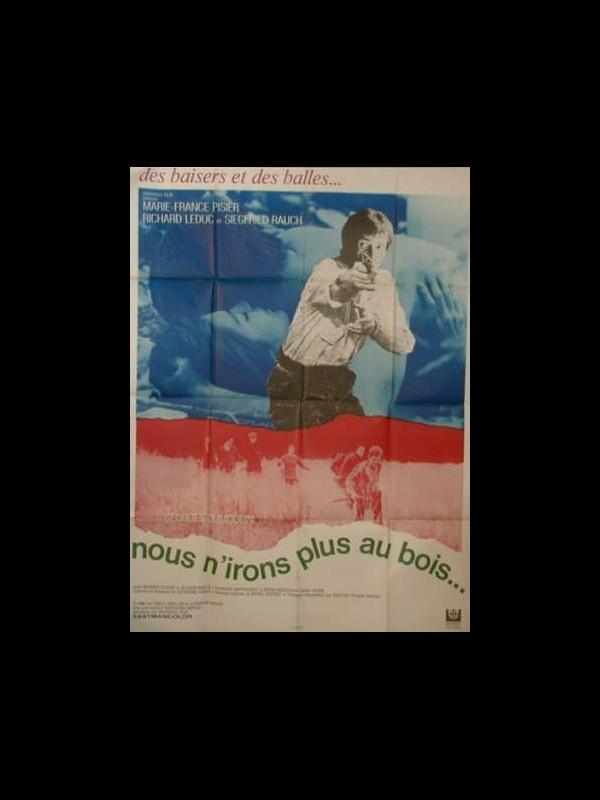 Affiche du film NOUS N'IRONS PLUS AU BOIS