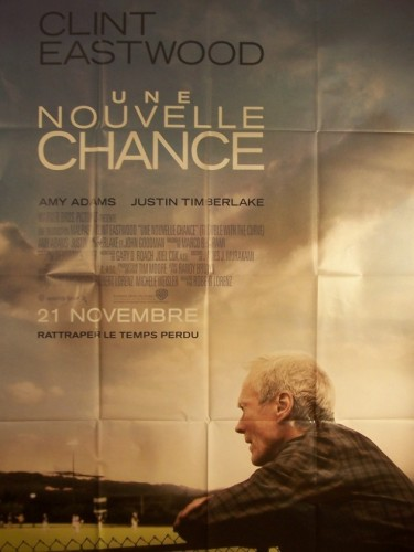 Affiche du film NOUVELLE CHANCE (UNE) - TROUBLE WITH THE CURVE