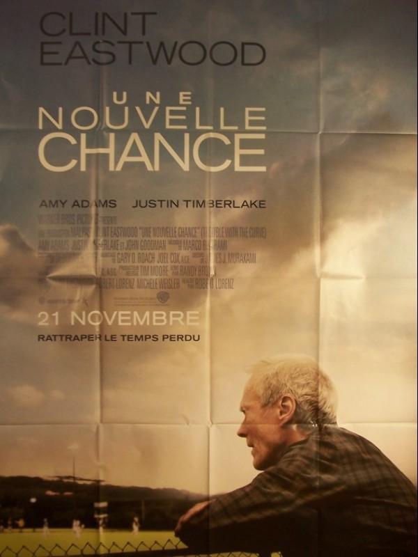 Affiche du film NOUVELLE CHANCE (UNE) - TROUBLE WITH THE CURVE