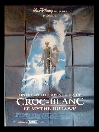 Affiche du film NOUVELLES AVENTURES DE CROC-BLANC (LES)