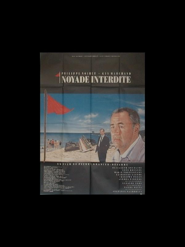 Affiche du film NOYADE INTERDITE
