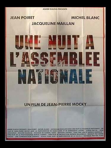 Affiche du film NUIT A L'ASSEMBLEE NATIONALE (UNE)
