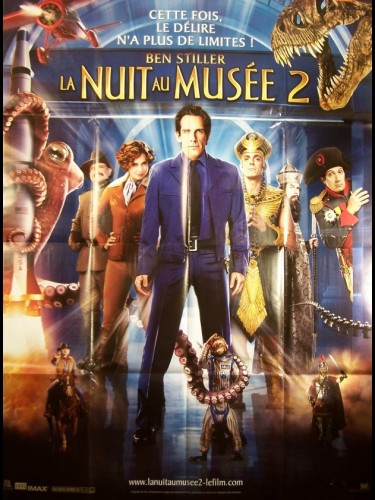 Affiche du film NUIT AU MUSEE 2 (LA) - NIGHT AT THE MUSEUM PART 2