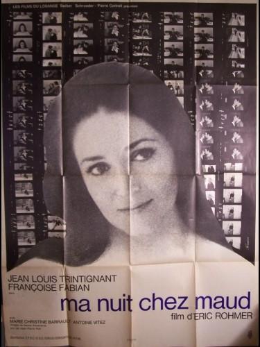 Affiche du film NUIT CHEZ MAUD (MA)
